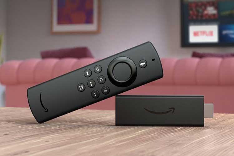 Amazon Fire TV Stick Lite - Die Fernbedienung kommt ohne Infrarot-Funktion und deshalb ohne Laut-Leiser-Tasten für den TV
