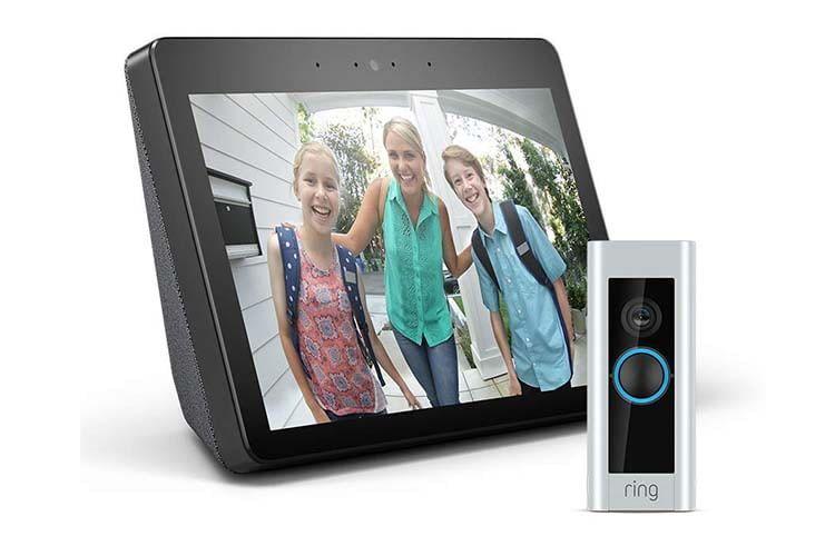Günstiges Smart Home-Bundle: Amazon Echo Show und Ring Video Doorbell Pro
