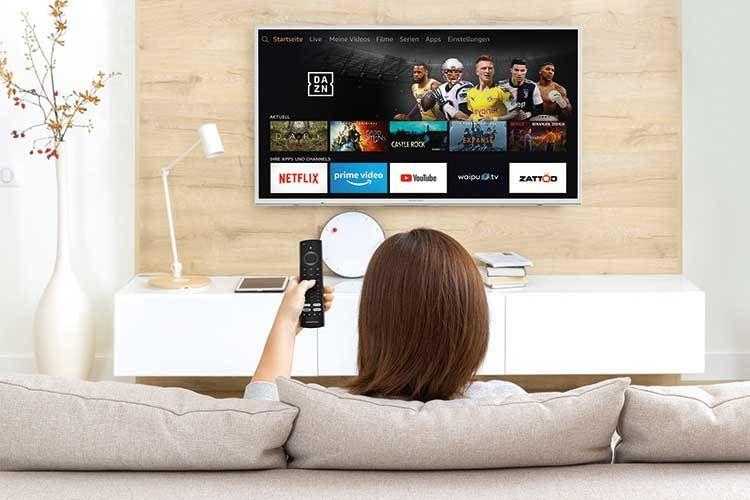 Grundig OLED Fire TV bietet mit Dolby Vision aktives HDR und hat die Sprachassistentin Alexa bereits integriert