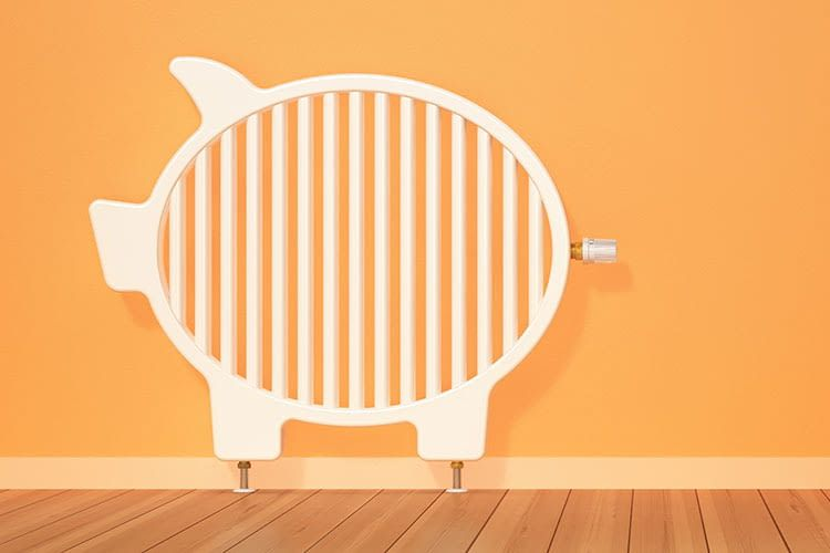 Ein Grund für eine smarte Heizungssteuerung besteht in der Einsparung von Energiekosten
