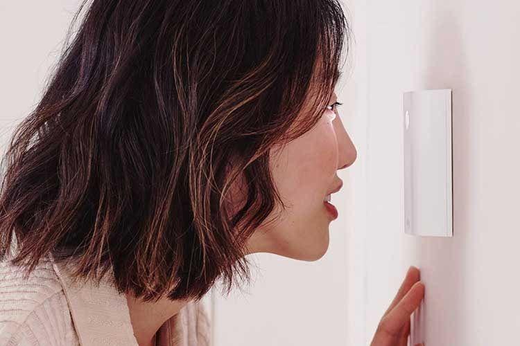 Der digitale Türspion Ring Door View Cam streamt das Kamera-Bild aufs Smartphone und bietet auch die klassische Ansicht