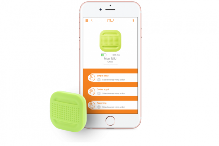 NIU Smart Button und Smartphone App
