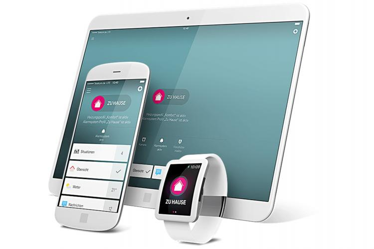Telekom Smart Home Partnerwelt App