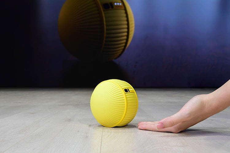 Samsung präsentiert auf der CES 2020 den mit einer Künstlichen Intelligenz ausgestatteten Roboter Ballie