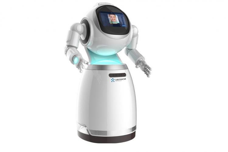 Der Ubtech Cruzr ist ein Service-Roboter