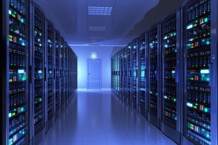 So könnte eine Google Serverfarm aussehen