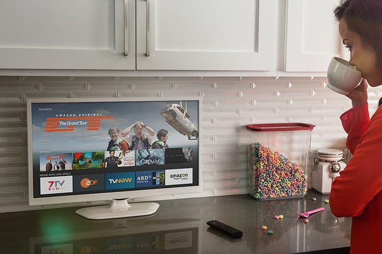 Mit den Fire TV Apps wird der Fernseher zum interaktiven Unterhaltungsgerät