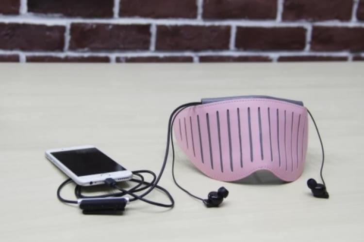 Naptime appgesteuerte Schlafmaske mit EEG-Messung