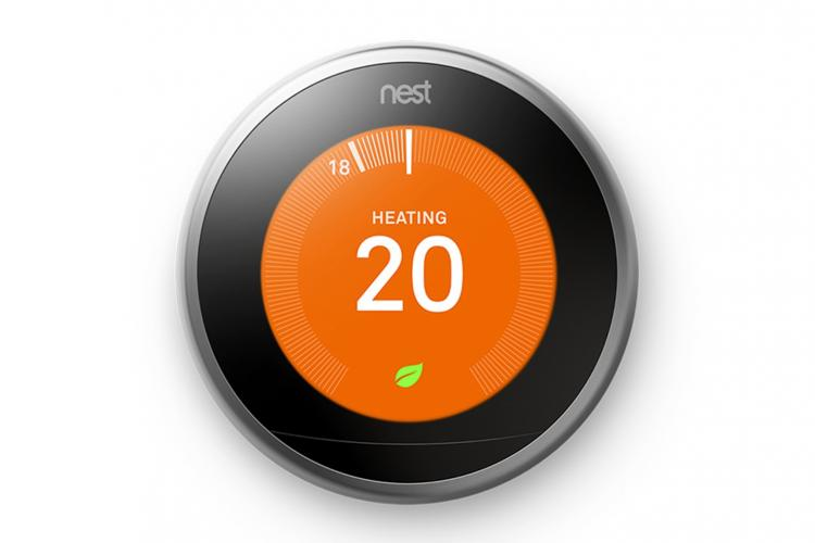 Smarte Heizungssteuerung Nest Thermostat von Google