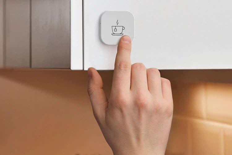 Mit dem IKEA Shortcut Button lassen sich Anwendungs-Szenen im IKEA Smart Home starten