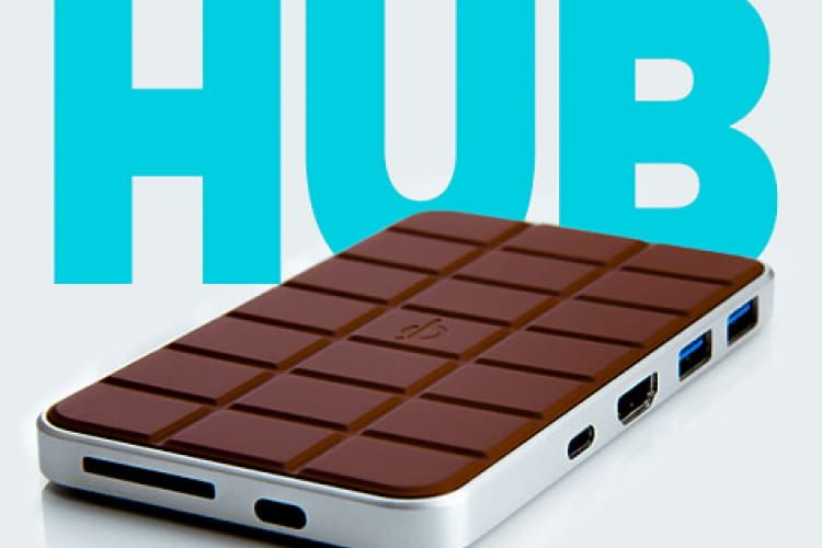 Chocolate Hub - QI Wireless Phone Charging
