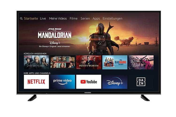 Der 49 Zoll TV Grundig Fire TV Edition ist ein 4K UHD Fernseher mit integriertem Fire TV