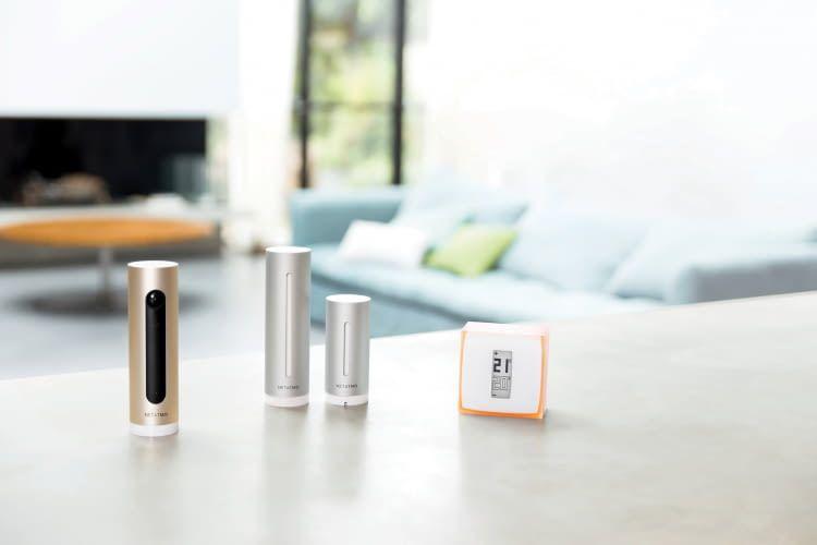 Netatmo bietet edle Smart Home Produkte vom Designer