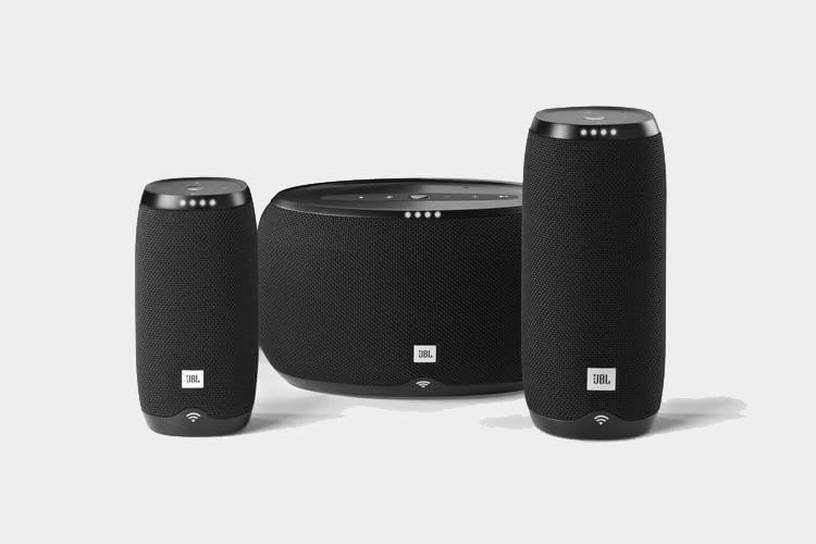 jbl link 10 20 und 300 lautsprecher mit google. Black Bedroom Furniture Sets. Home Design Ideas