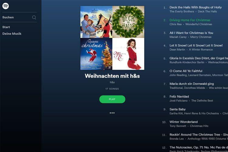 Spotify-Playlist 'Weihnachten mit h&s' macht die Adventszeit besinnlich