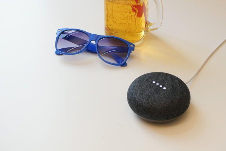 Auch Google Mini kann zum Musik streamen in ein Multiroom-System eingebunden werden