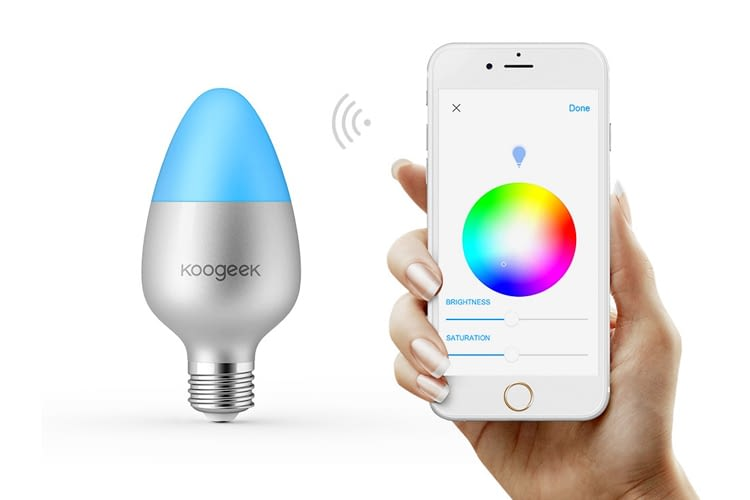 "Koogeek neues E27-Leuchtmittel ""works with HomeKit"""