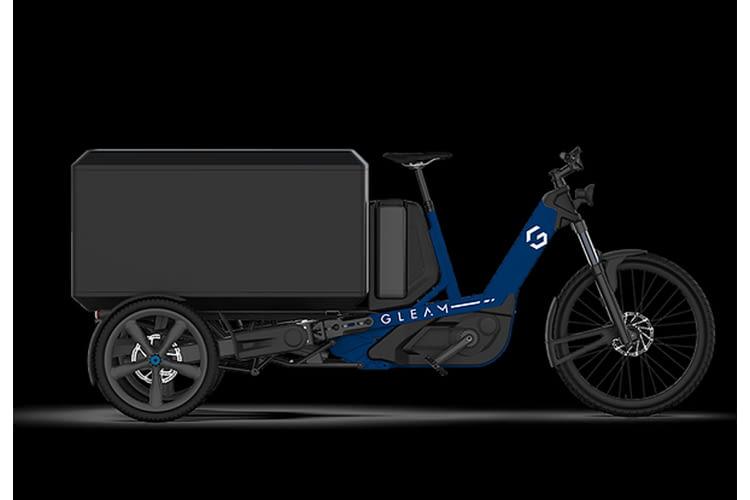 Das Gleam Cargo eBike Lastenrad soll eine Alternative zum Auto bieten