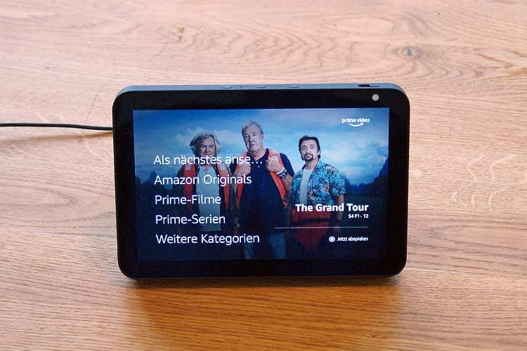 Amazon Prime-Kunden können ihre Lieblingsvideos über Echo Show streamen