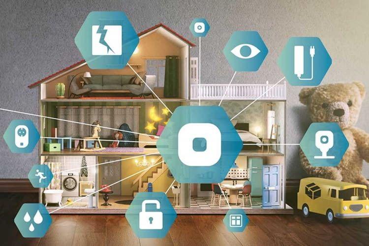 Abbildung von Panasonic Smart Home Vernetzung