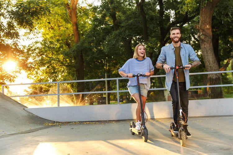 E-Scooter werden vor allem in Innenstädten immer beliebter