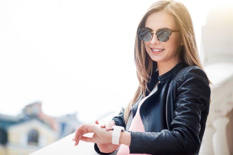 Eine Smartwatch sieht nicht nur gut aus, sondern erleichtert auch den Alltag