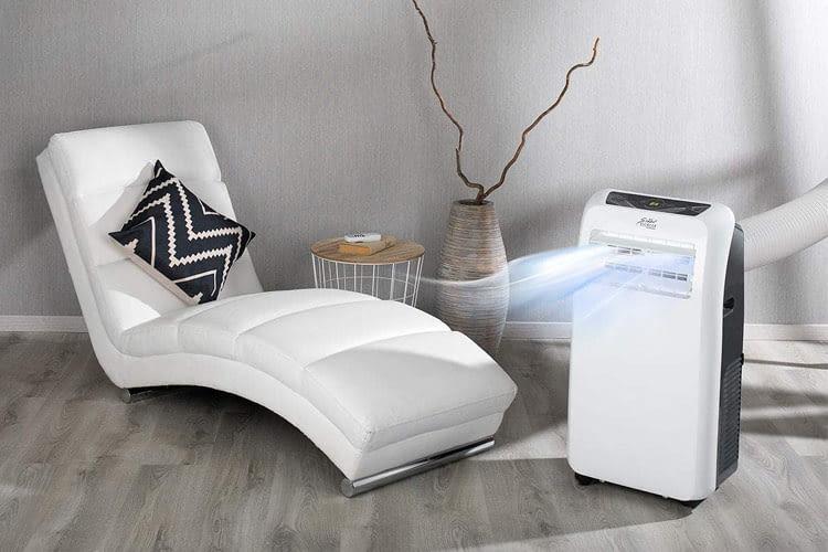 Zur Steuerung dieser Klimaanlage muss niemand vom Sessel aufstehen