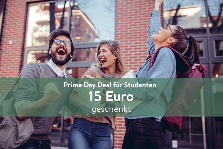 Prime Day Amazon Prime Student Gratis 15 Gutschein