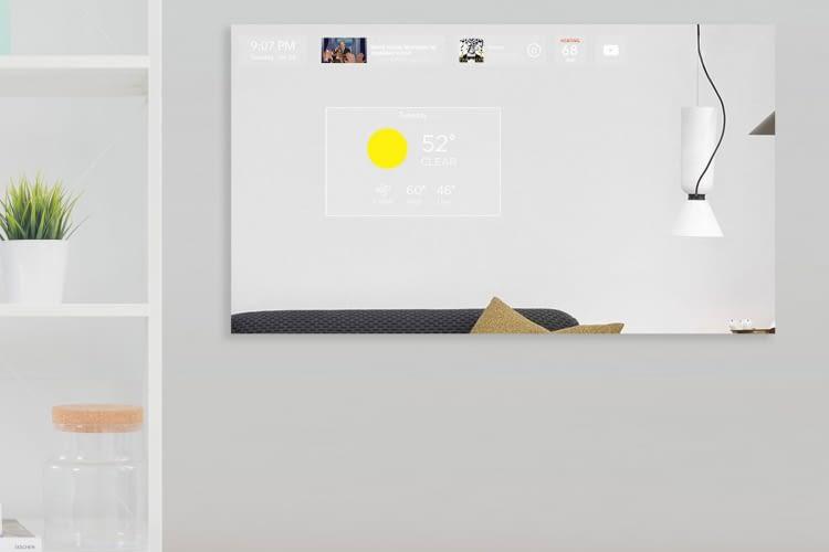 Der Duo Mirror als Informationsquelle im Wohnraum