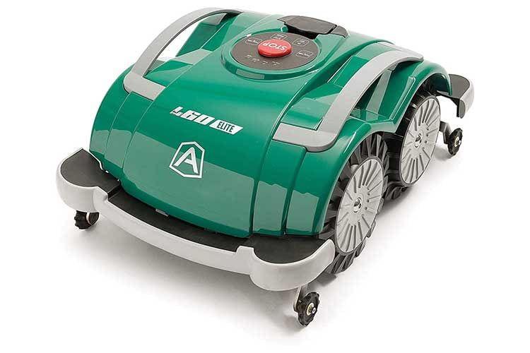 Ambrogio L60 Elite und L60 Elite S+ sind Mähroboter, die den Rasen ohne Begrenzungskabel bearbeiten