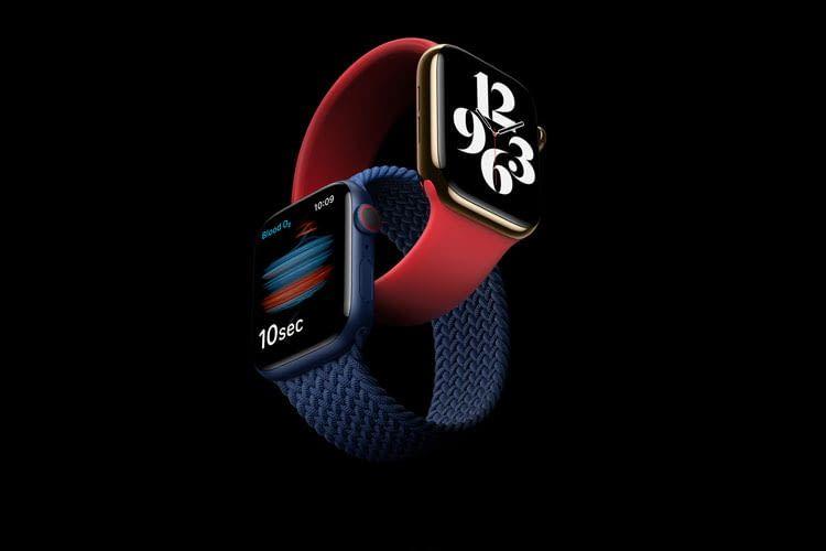 Die Apple Watch Series 6 bietet erstmals Modelle in blauer oder roter Farbe
