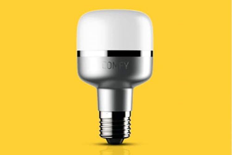 ComfyLight LED Glühbirne für E27 Fassung. Kommuniziert per WLAN