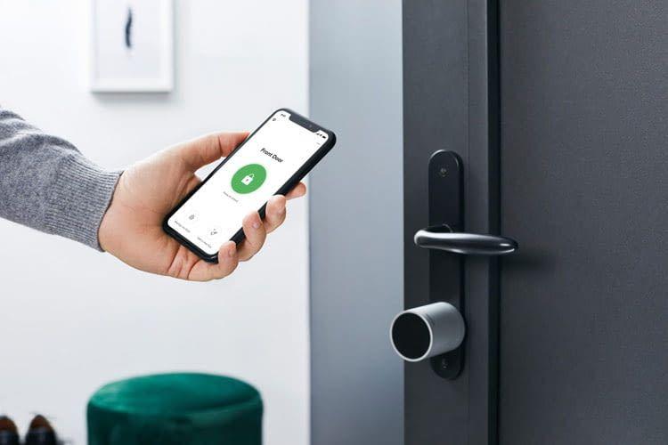 Wurde der Schlüssel im Haus vergessen, ist die Öffnung per App möglich