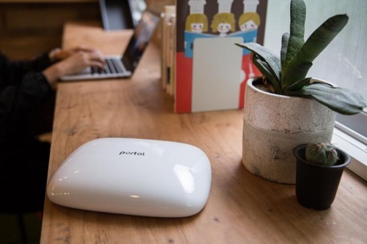 Bild des Portal WiFi Router für das Internet der Dinge (IoT) und das Smart Home
