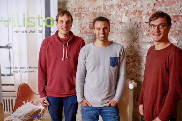 Die drei Gründer von Vilisto