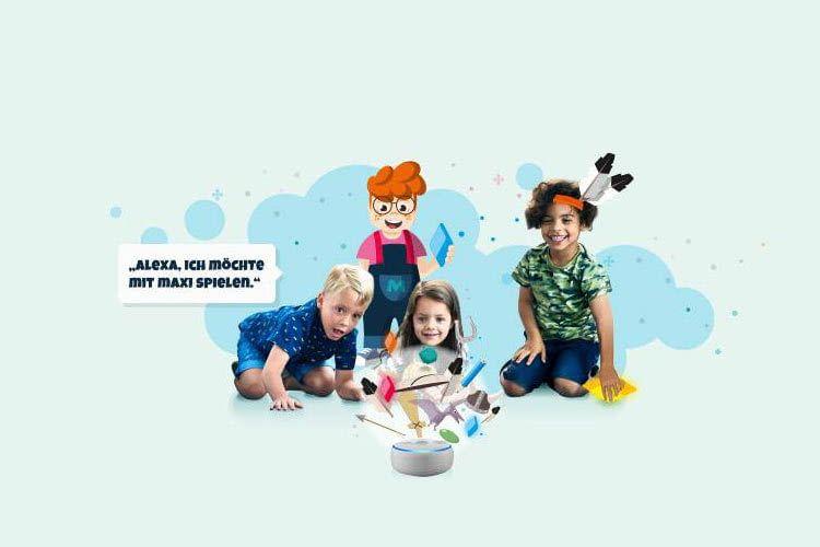 Die Kinder müssen Maxi dabei helfen ihre Abenteuer erfolgreich zu bestehen