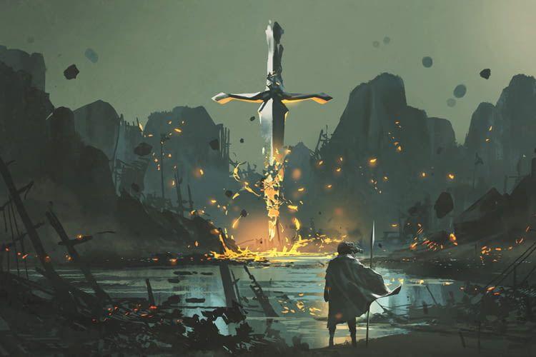 Mithilfe von Sprachbefehlen lässt sich der Ritter im Spiel steuern