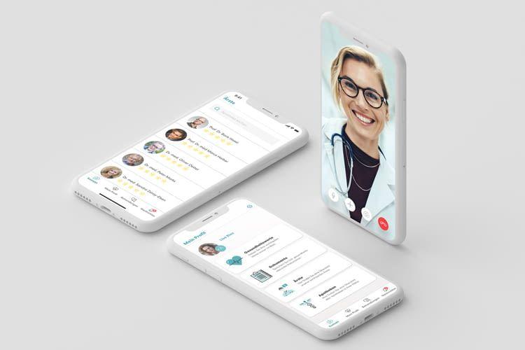Online Diagnose mit der TeleClinic App