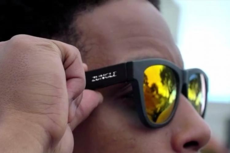 Zungle Panther Sonnenbrille mit Bone Conduction Hearing