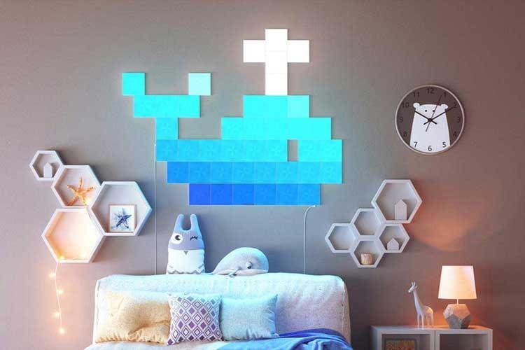 Nanoleaf Canvas bietet viele kreative Möglichkeiten für alle Räume