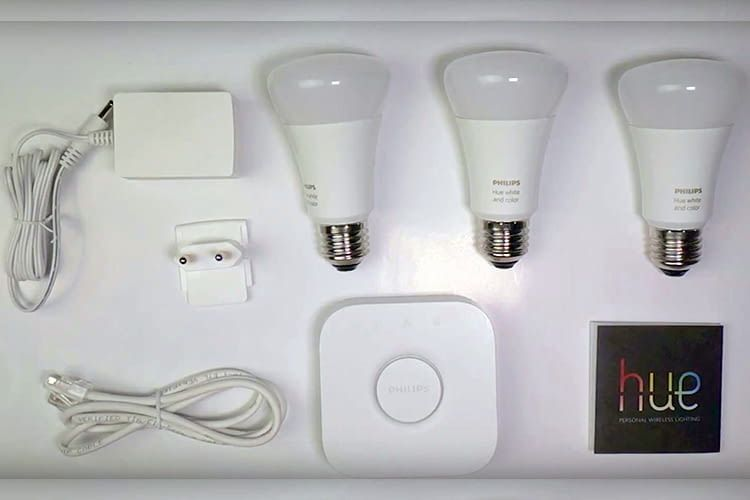 Philips Hue Lichtsystem ganz einfach installieren und verbinden