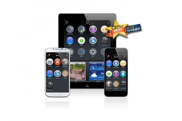 ClareHome App von Clare Controls zur Steuerung des Smart Home