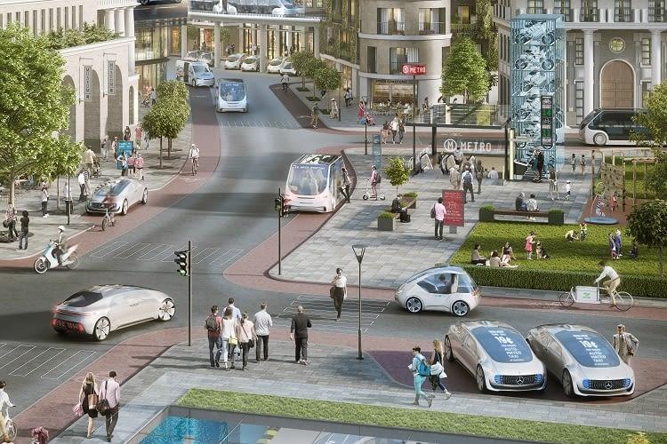 Die Mobilität der Zukunft könnte von Bosch und Daimler geprägt werden