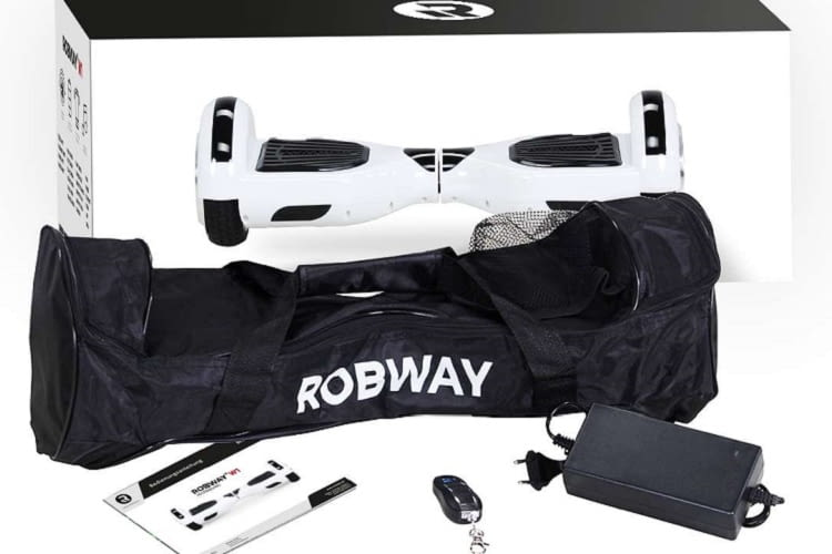 Das Robway W1 Hoverboard ist günstig und überzeugt durch seine Leistung