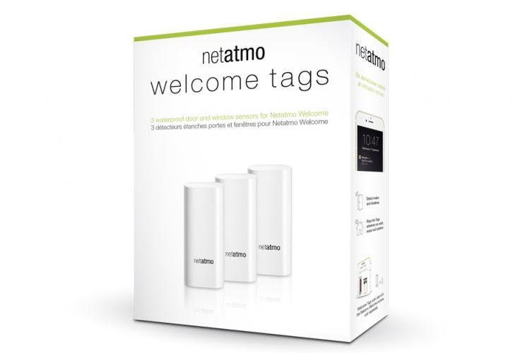Netatmo Tags für Tür und Fenster