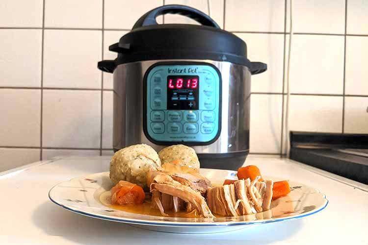 Perfekt für Braten und Schluss mit Ofenputzen: Mit Instant Pot DUO Mini gelingt saftiger Schweinebraten auf Anhieb