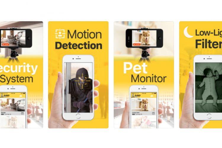 app handy als überwachungskamera
