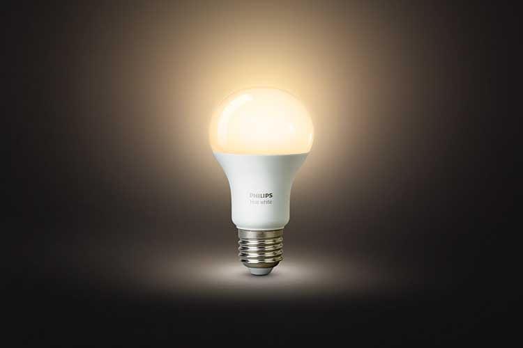 Philips Hue White LED bieten einen guten Start ins Philips Hue Lichtsystem