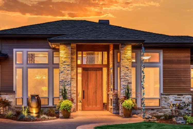 Beleuchtetes Smart Home