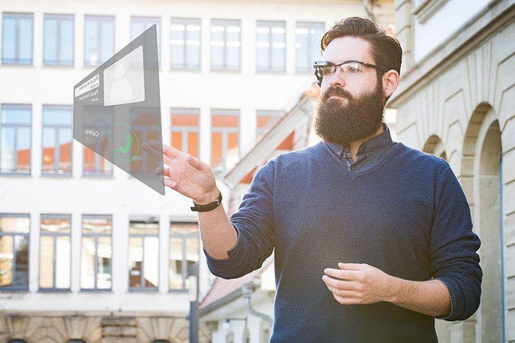 Mit Kinemic können Nutzer per Gestensteuerung Informationen über ein Augmented Reality-System abrufen